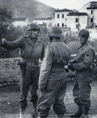 Французы в итальянской деревне Сан-Винченцо. 21 декабря 1943 г.
