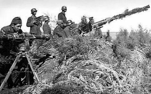 Венгерские зенитчики. Донской фронт. Сентябрь 1942 г.