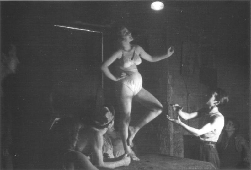 Интерьер солдатского борделя. Неаполь, 1945 г.
