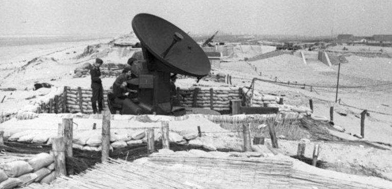 Немецкие радиолокационные станции Атлантического вала. Май 1944 г.