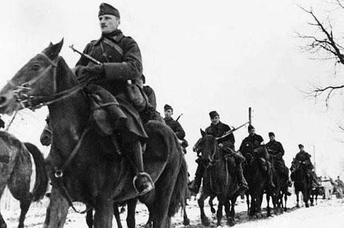 Кавалерия на Восточном фронте. Ноябрь 1942 г.