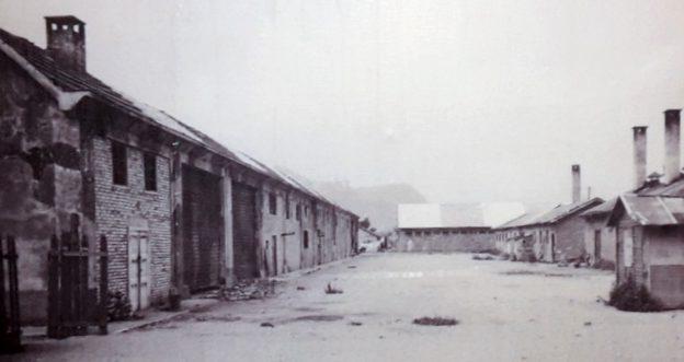 Концентрационный лагерь в Больцано. Апрель 1945 г.