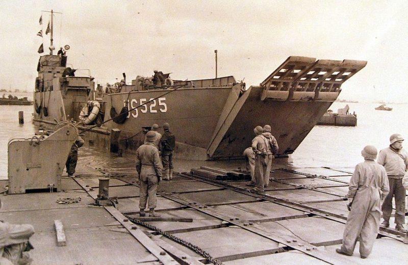 Американцы высаживаются в Нормандии. 6 июня 1944 г.