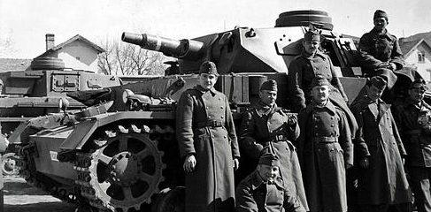 Солдаты в учебном центре венгерской армии в Эстергом-Кертваросе. 1942 г.