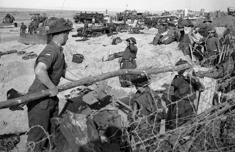 Высадка британцев в Нормандии. 6 июня 1944 г.