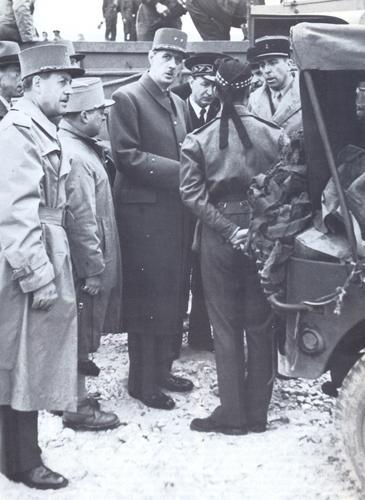Де Голль вернулся во Францию. Пляж Courseulles, 14 июня 1944 г.