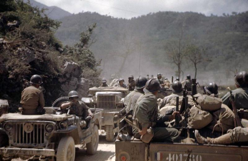 Французские войска в Италии. Июль 1944 г.