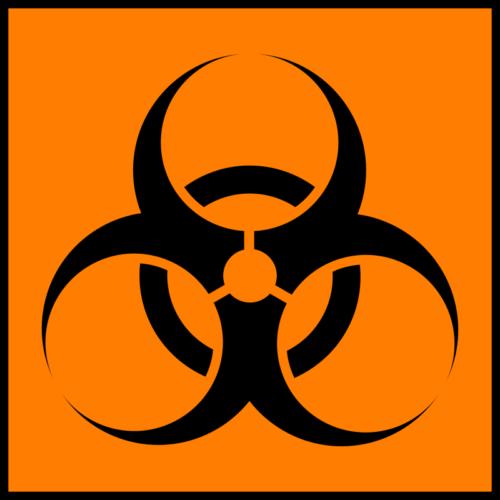 Международный символ биологической угрозы.