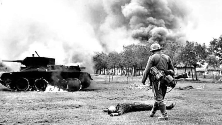 Бой за город. Июнь 1941 г.