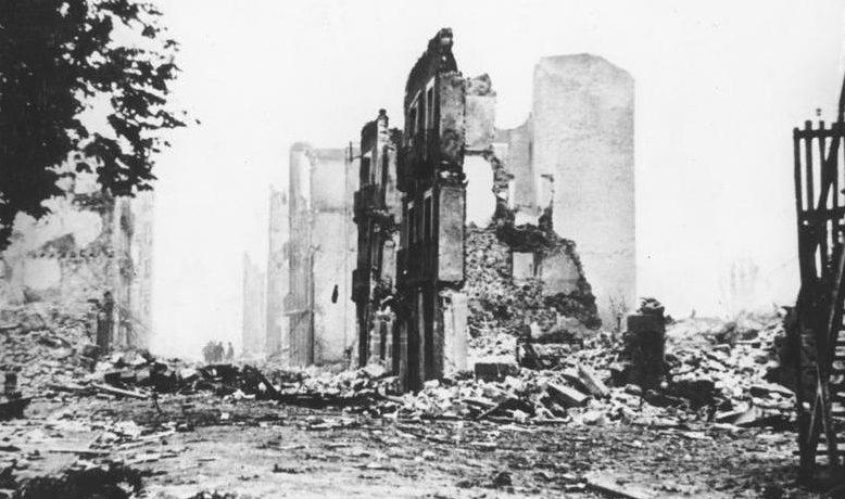Руины Герники.