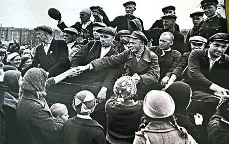 Проводы на фронт. Сентябрь 1941 г.