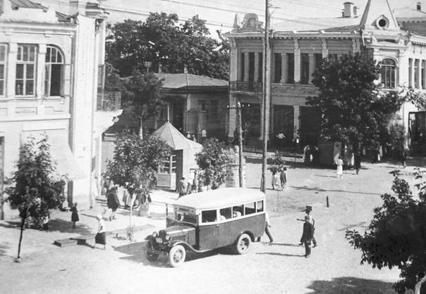 Майкоп до войны. 1940 г.
