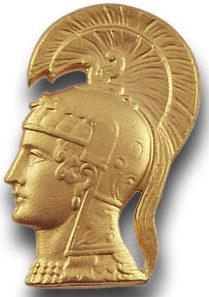 Эмблема WAAC - Афина Паллада - древнгегреческая непобедимая воительница.