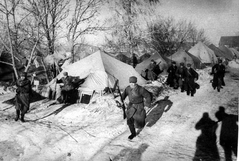 В Тоцких лагерях, 6-я пехотная дивизия «Армии Андерса». 1941 г.
