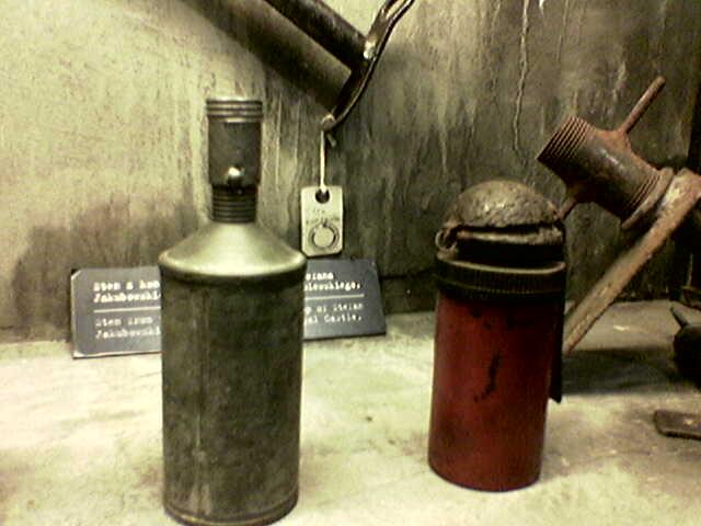 Самодельные ручные гранаты, выпускавшиеся подпольно в АК.