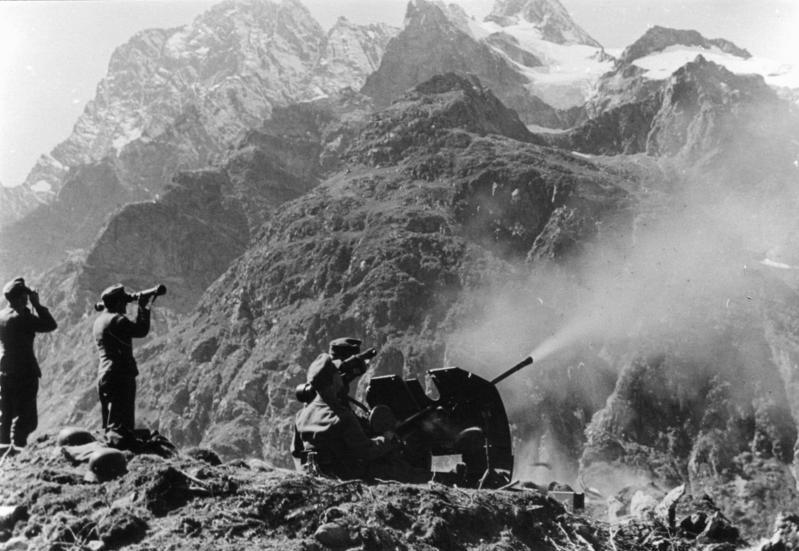 Немецкие войска на Кавказе.