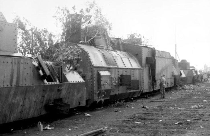 Бронепоезд №2 «Южноуральский железнодорожник» в Мармыжи. 29 июня 1942 г.