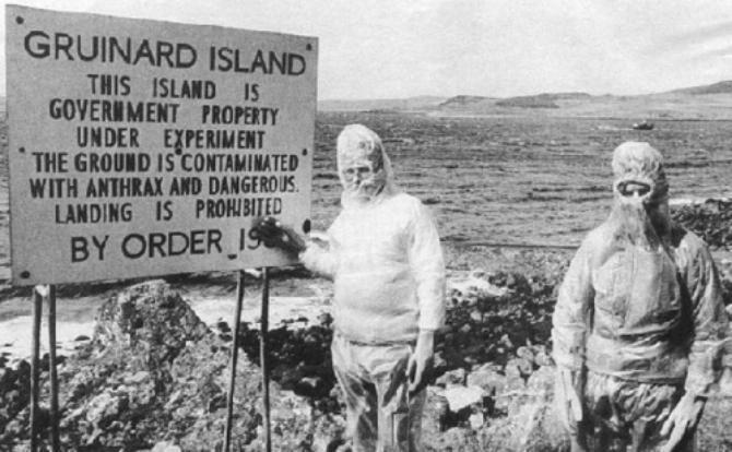 Знаменитый «мертвый» остров Груинард.