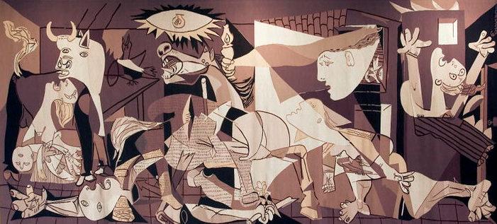 Картина Пикассо «Герника».