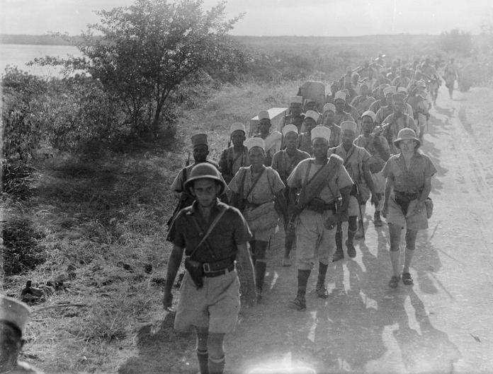Отступление французских войск.