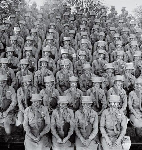 Первые тренировочные курсы в Форте Де-Мойн.