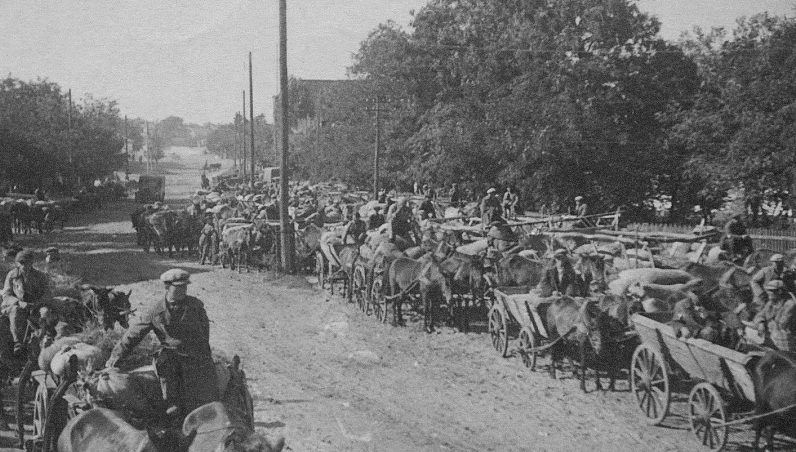 Беженцы. Август 1941 г.
