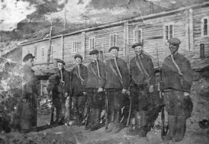 Подготовка призывников в ОСОАВИАХИМе. 1941 г.