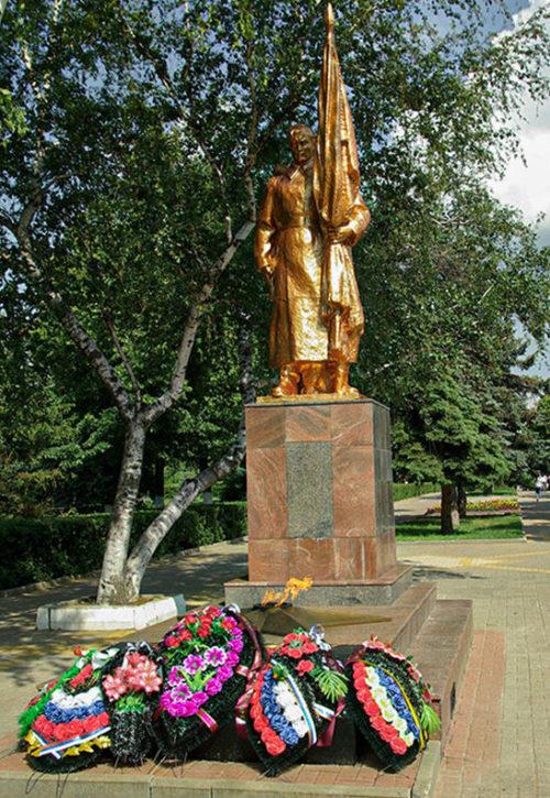 г. Алексеевка. Памятник Неизвестному солдату в сквере им. Гагарина.