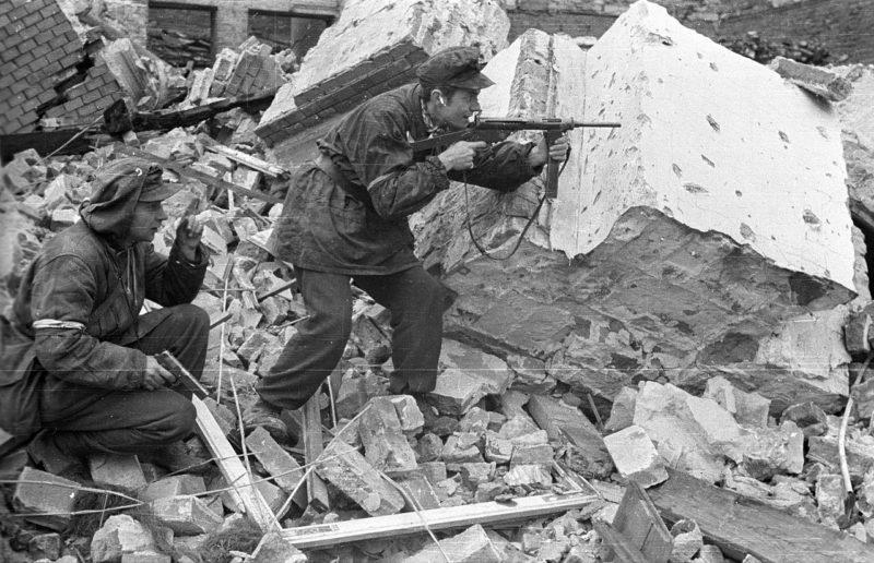 Бойцы батальона «Gustaw». Октябрь 1944 г.