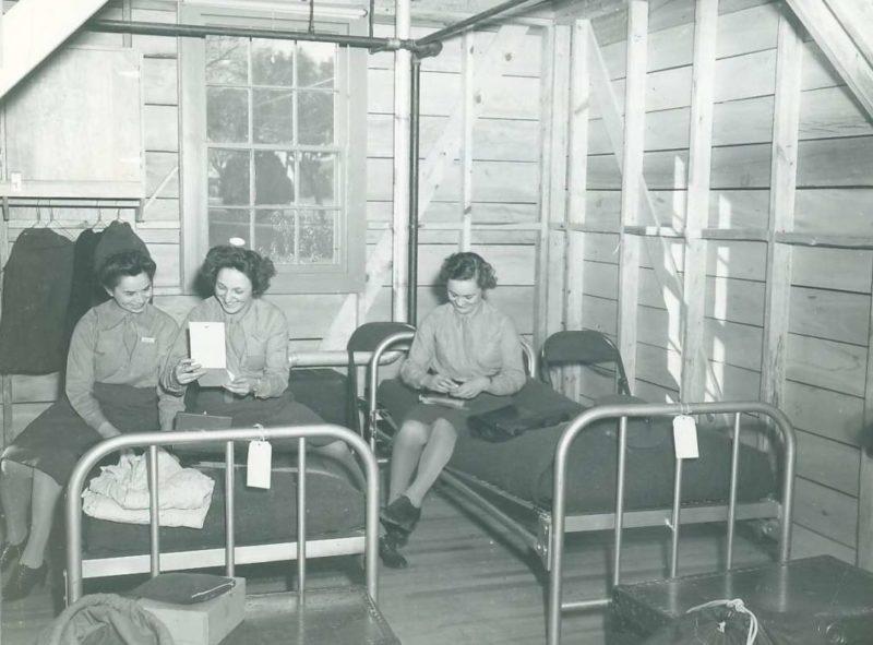 Казарма WAАC в форте Сэм Хьюстон. Декабрь 1942 г.