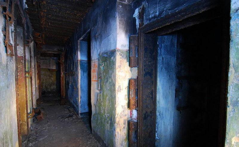 Подземные помещения.