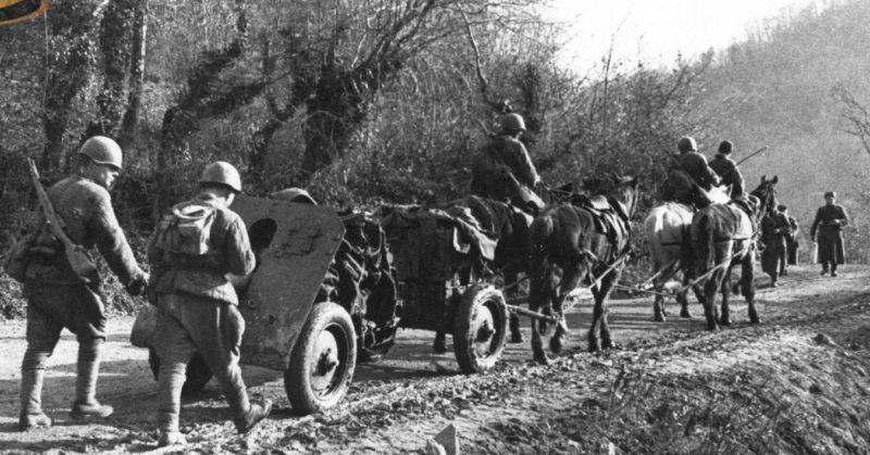 Оборона на подступах к Туапсе. 1942 г.
