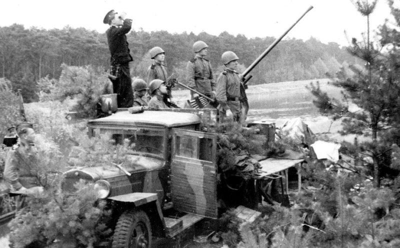 Зенитчики Туапсе. Сентябрь 1942 г.
