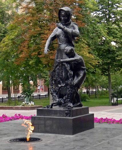 Скульптура «Скорбящая мать».