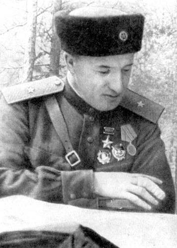 Сабуров А.Н. – командир партизанского отряда.