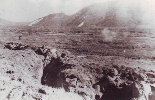 Окопы у Нальчика. Октябрь 1942 г.
