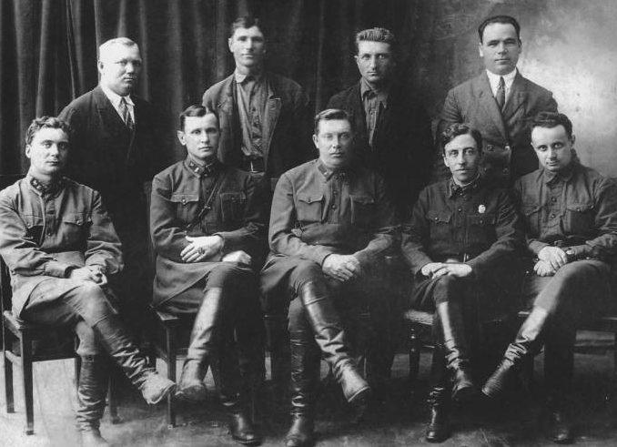 Командный состав 82-го Тираспольского укрепрайона. 1941 г.