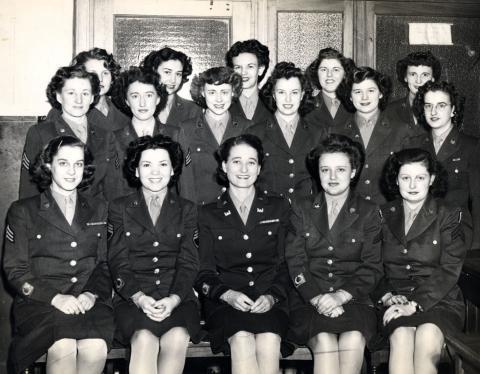 Военнослужащие Манхэттенского проекта. 1943 г.