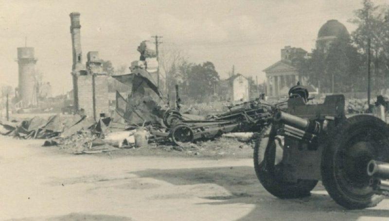 Разбитая советская техника. 1941 г.