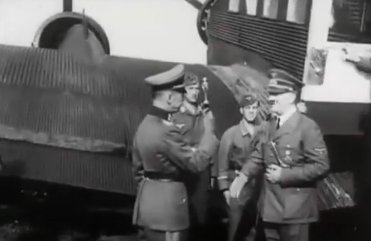 Адольф Гитлер прилетел в Бердичев. 6 августа 1941 г.