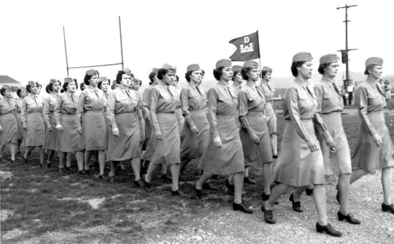 Военнослужащие WAC в Теннесси. 1943 г.