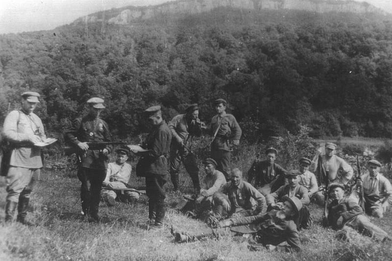 Армавирский партизанский отряд. 1942 г.