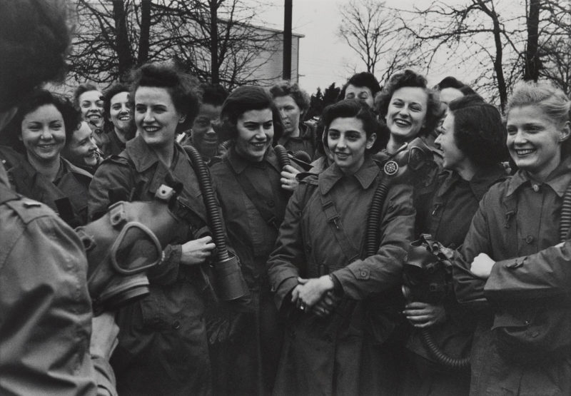 Занятия в школе WAC. 1943 г.