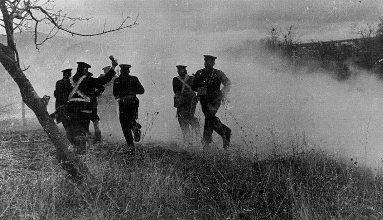 Наступление морской пехоты. Январь 1943 г.