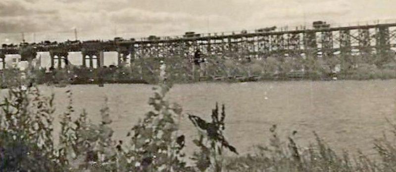 Восстановление моста через Десну. 1941 г.
