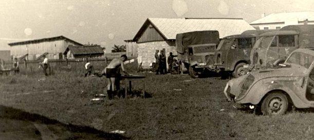 Немецкие солдаты в Тирасполе. Август 1941 г.