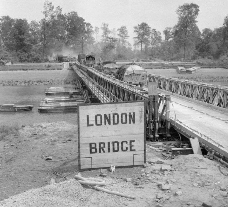 «Лондонский мост» через Орн. 18 июля 1944 г.