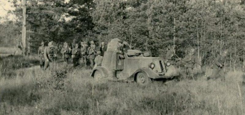 Рейды «каминцев» против партизан.