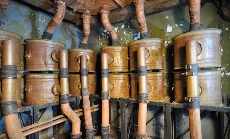Система вентиляции и очистки воздуха.