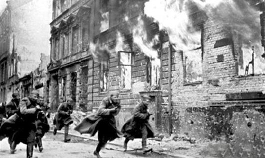 Уличные бои. 23 января 1943 г.